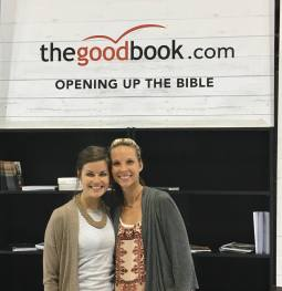 """""""Hope When It Hurts"""" became reality when we met our publisher in-person at TGCW16, after working with our British editor for months via email. What a treat!"""